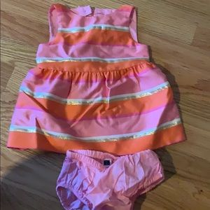 Janie jack 3-6 month dress with bloomers